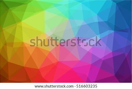 light multicolor blurry