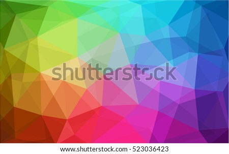 light multicolor pattern