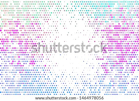 Light Multicolor, Rainbow vector backdrop with rectangles, squares. Rectangles on abstract background with colorful gradient. Smart design for your business advert.