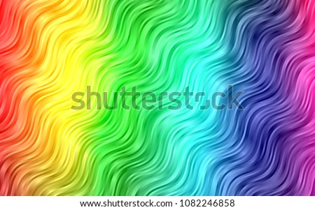 light multicolor  rainbow