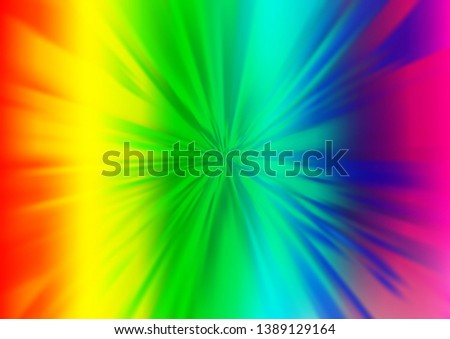 Light Multicolor, Rainbow vector modern elegant background. An elegant bright illustration with gradient. A new texture for your design.