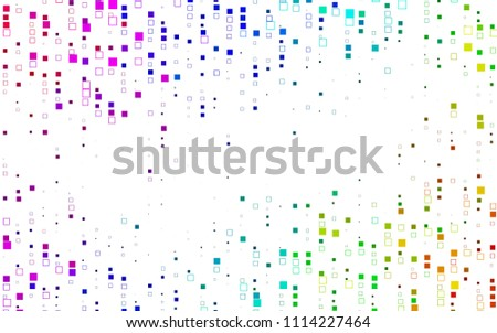 light multicolor  rainbow