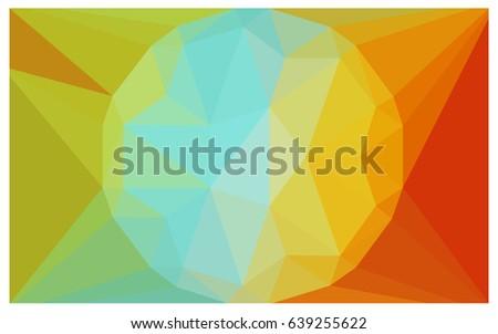 light multicolor vector diamond