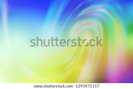 Light Multicolor vector modern elegant backdrop. An elegant bright illustration with gradient. Completely new design for your business.