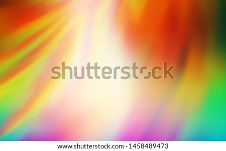 Light Multicolor vector modern elegant background. An elegant bright illustration with gradient. Blurred design for your web site.