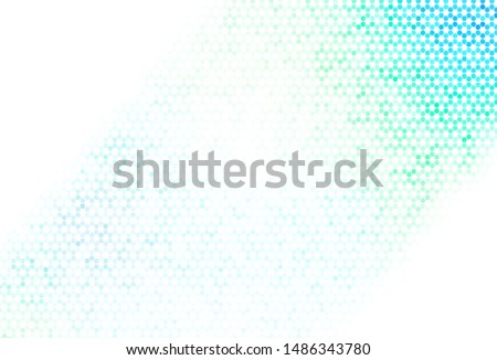 Light Multicolor vector texture with colorful hexagons. Colorful hexagons on blur backdrop. Pattern for ads, leaflets.