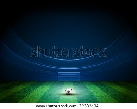 light of stadium vector design