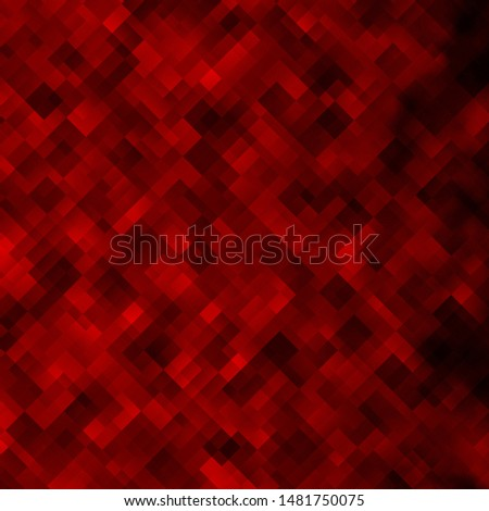 Light Orange vector backdrop with rectangles. Colorful illustration with gradient rectangles and squares. Pattern for commercials, ads.