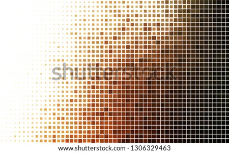 Light Orange vector backdrop with rectangles, squares. Rectangles on abstract background with colorful gradient. Modern template for your landing page.