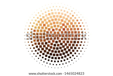 Light Orange vector backdrop with rectangles, squares. Rectangles on abstract background with colorful gradient. Pattern for busines ad, booklets, leaflets