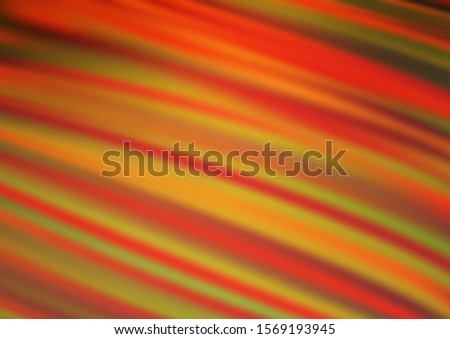 Light Orange vector blurred shine abstract background. Shining colorful illustration in a Brand new style. The template for backgrounds of cell phones.