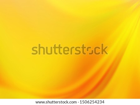 Light Orange vector blurred shine abstract pattern. Shining colorful illustration in a Brand new style. Brand new style for your business design.