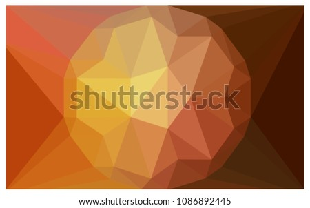 light orange vector diamond