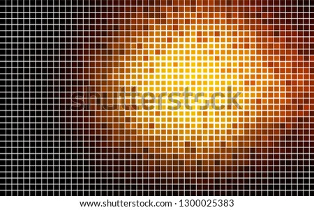 Light Orange vector layout with lines, rectangles. Rectangles on abstract background with colorful gradient. Best design for your ad, poster, banner.