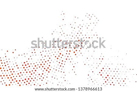 Light Orange vector layout with lines, rectangles. Rectangles on abstract background with colorful gradient. Smart design for your business advert.