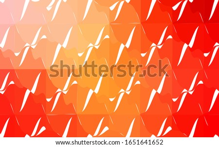 light orange vector low poly
