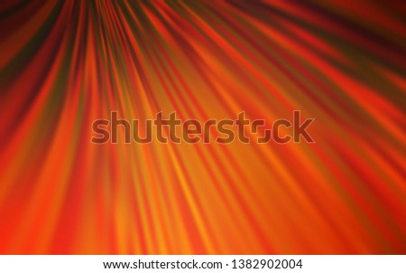 Light Orange vector modern elegant backdrop. An elegant bright illustration with gradient. New style for your business design.