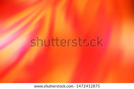 Light Orange vector modern elegant backdrop. An elegant bright illustration with gradient. Smart design for your work.
