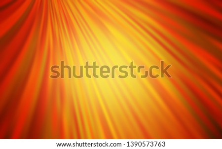 Light Orange vector modern elegant layout. An elegant bright illustration with gradient. The best blurred design for your business.