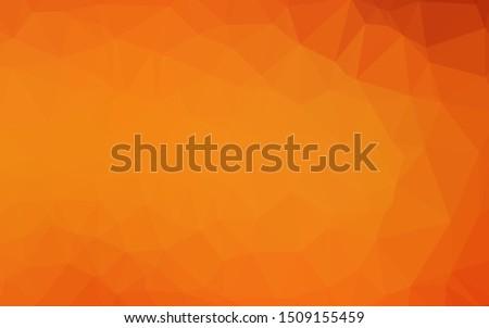 light orange vector shining