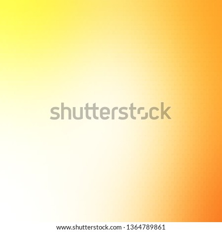 Light Orange vector template with rectangles. Rectangles with colorful gradient on abstract background. Pattern for websites, landing pages.