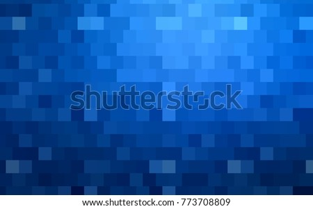 Light Pink, Blue vector abstract textured polygonal background. Blurry rectangular design. The pattern with repeating rectangles can be used for background.