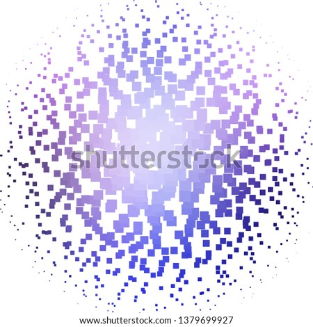 Light Pink, Blue vector backdrop with rectangles. Rectangles with colorful gradient on abstract background. Best design for your ad, poster, banner.