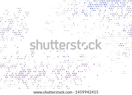 Light Pink, Blue vector backdrop with rectangles, squares. Rectangles on abstract background with colorful gradient. The template can be used as a background.