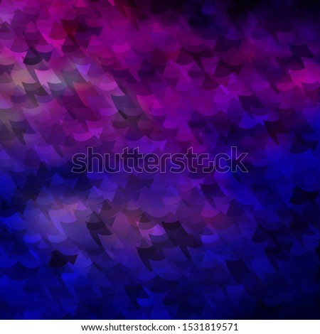 Light Pink, Blue vector texture in rectangular style. Abstract gradient illustration with colorful rectangles. Pattern for commercials, ads.