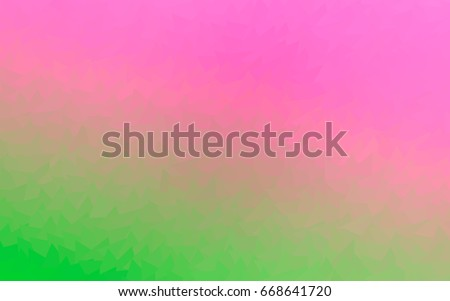 light pink  green vector of