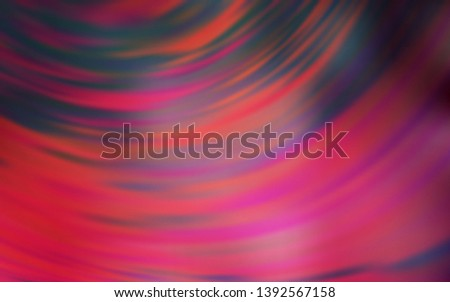 Light Pink, Red vector modern elegant backdrop. An elegant bright illustration with gradient. Blurred design for your web site.