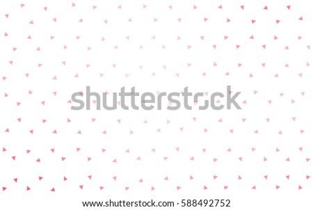light pink vector geometric