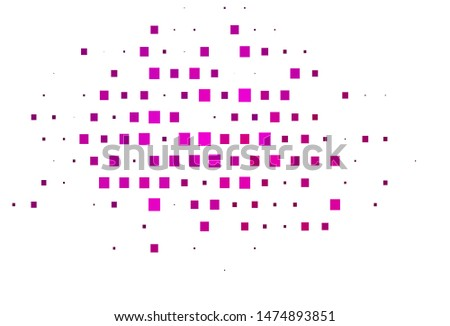 Light Pink vector layout with lines, rectangles. Rectangles on abstract background with colorful gradient. The template can be used as a background.