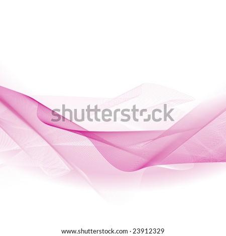Light pink wave