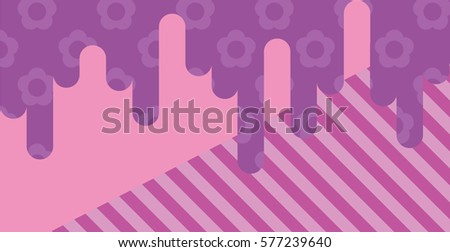 light purple flower pattern