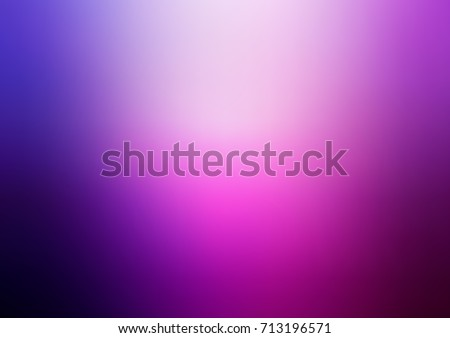 Light Purple, Pink vector abstract blurred background. Creative illustration in halftone style with gradient. Brand-new style for your business design. - Shutterstock ID 713196571
