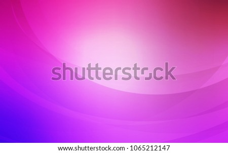 Stock Photo Light Purple, Pink vector template with liquid shapes. Shining illustration, which consist of blurred lines, circles. Brand-new design for your ads, poster, banner.