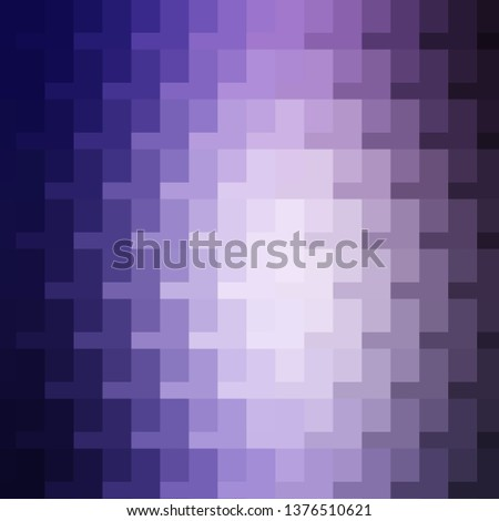 Light Purple vector backdrop with rectangles. Rectangles with colorful gradient on abstract background. Pattern for commercials, ads.