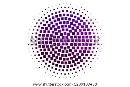 Light Purple vector backdrop with rectangles, squares. Rectangles on abstract background with colorful gradient. Pattern can be used for websites.