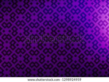 Light Purple vector backdrop with rectangles, squares. Rectangles on abstract background with colorful gradient. The template can be used as a background.