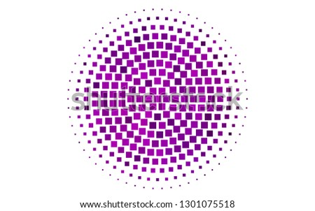 Light Purple vector backdrop with rectangles, squares. Rectangles on abstract background with colorful gradient. Smart design for your business advert.
