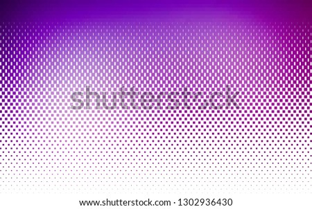 Light Purple vector background with rectangles. Rectangles on abstract background with colorful gradient. Modern template for your landing page.