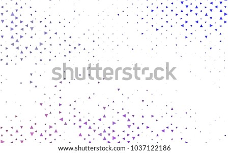 light purple vector geometric