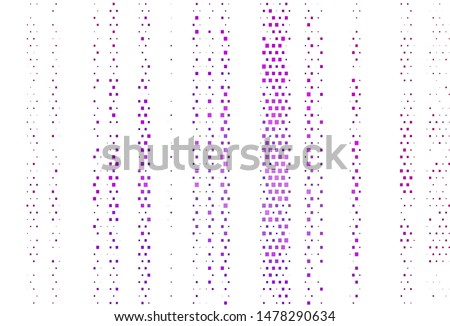 Light Purple vector layout with lines, rectangles. Rectangles on abstract background with colorful gradient. Modern template for your landing page.
