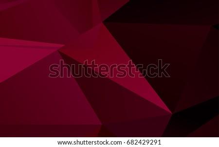 light purple vector low poly
