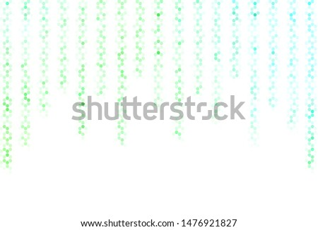 Light Purple vector pattern with colorful hexagons. Colorful hexagons on blur backdrop. Design for website posters, banners.