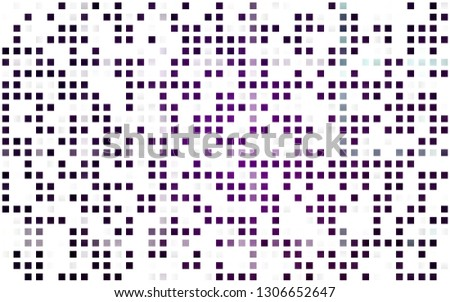 Light Purple vector seamless layout with lines, rectangles. Rectangles on abstract background with colorful gradient. Trendy design for wallpaper, fabric makers.