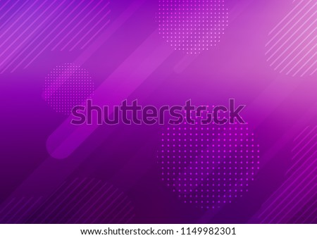 Light Purple vector texture with colored capsules, dots. Shining colored illustration with rounded stripes, dots. The pattern can be used for websites.