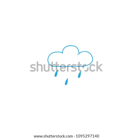 light rain weather icon