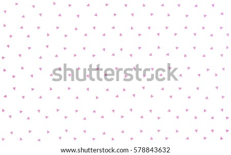 Light red vector abstract colorful background, which consist of triangles. Pattern with colored triangles on white background. #578843632